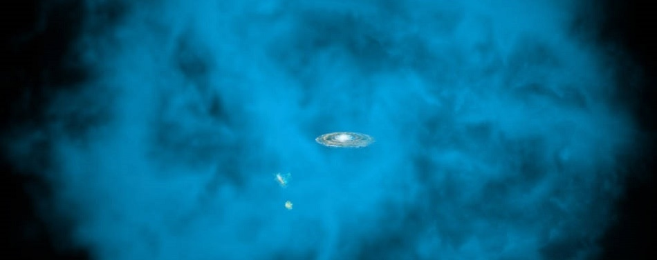 LSA Astronomers Discover How Milky Way's Halo Spins in Same Way as the Galaxy's Disk